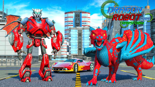 Dragon Robot Car transform screenshot 1