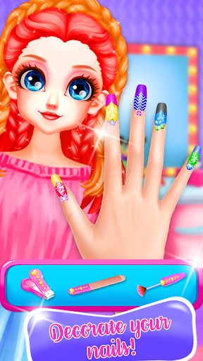 Little Princess Bella Girl Braid Hair Beauty Salon screenshot 8