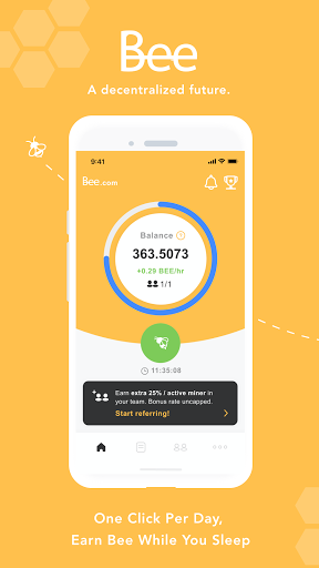 Bee Network:Phone-based Digital Currency screenshot 1