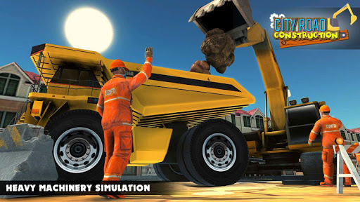 Mega City Road Construction Machine Operator Game screenshot 13