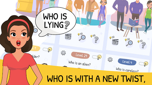 Who is? 2 Tricky Chats and Brain Puzzles screenshot 1