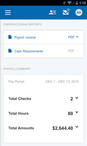 Paychex Flex screenshot 3