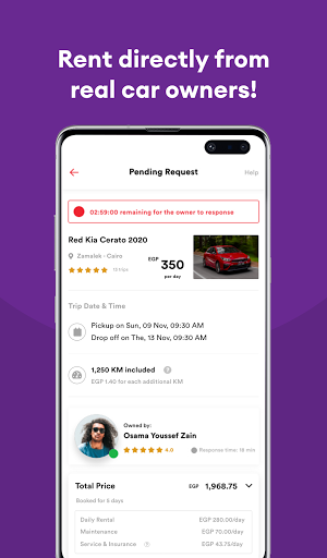 dryve - Car Rental App screenshot 2