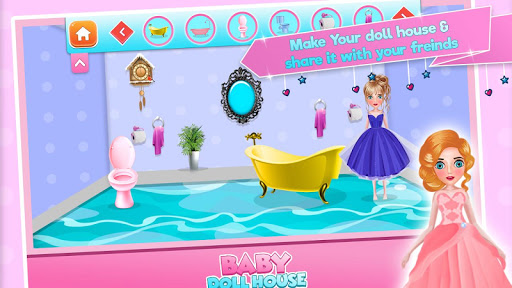 Baby doll house decoration game | New Toy sets screenshot 2