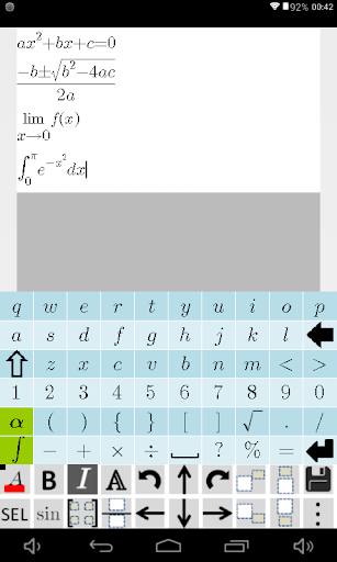 Equation Editor and Math Question and Answer Forum screenshot 8