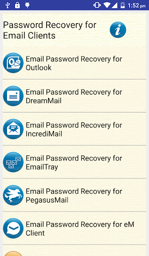 Email Password Recovery Help screenshot 1
