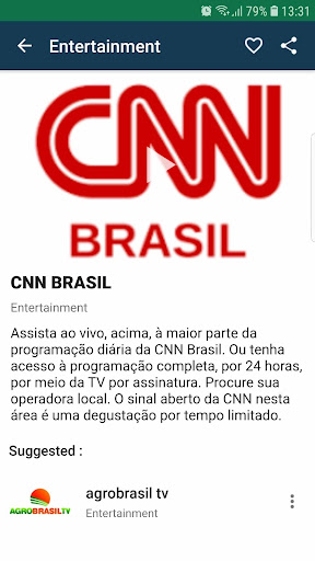 Brasil TV ao vivo no celular screenshot 5