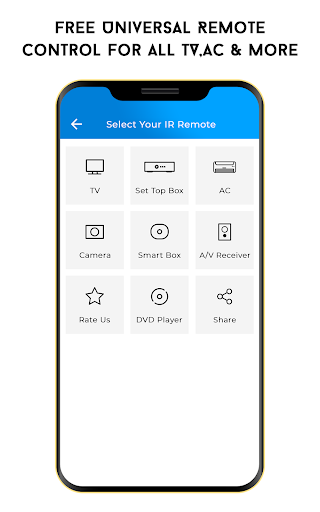 Free Universal Remote Control For All TV, AC &more screenshot 1