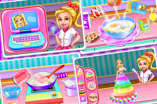 Christmas Doll Cooking Cakes & Desserts screenshot 1