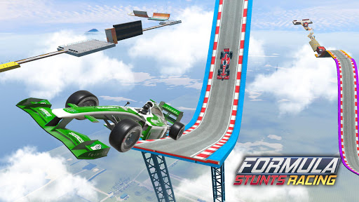 Mega Ramp Car Stunt Race screenshot 13