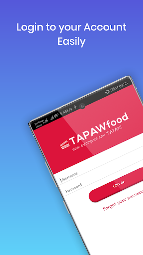 TAPAWFOOD screenshot 1