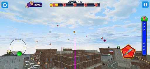 Indian Kite Flying 3D screenshot 2