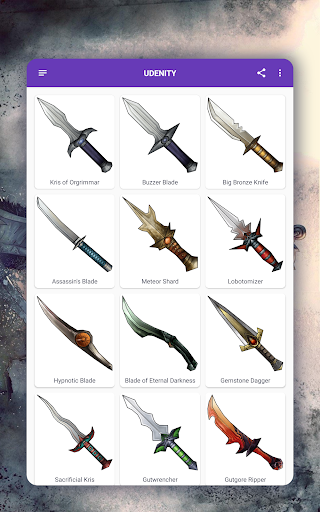How to draw weapons. Daggers. Step by step lessons screenshot 16