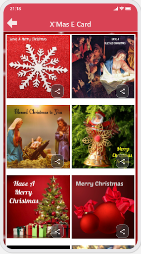 Christmas & New Year Greetings Ecard and GIF capture d ecran 6