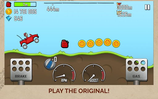 Hill Climb Racing screenshot 6