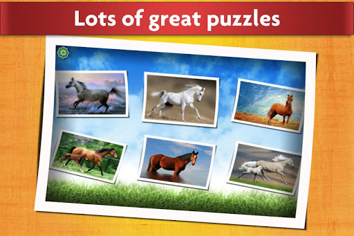 Horse Jigsaw Puzzles Game - For Kids & Adults 🐴 screenshot 2