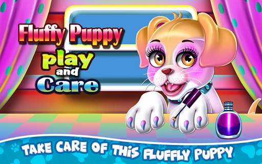 Fluffy Puppy Play and Care screenshot 1