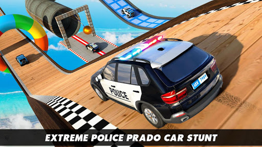 Police Prado Car Stunt Games screenshot 17