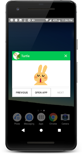 Popup Notification for LINE (ONLY with LINE app) screenshot 2