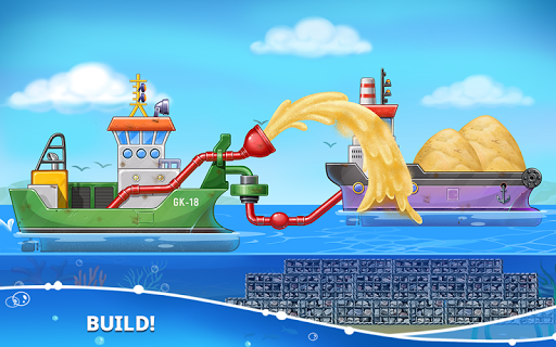 Game Island. Kids Games for Boys. Build House screenshot 4