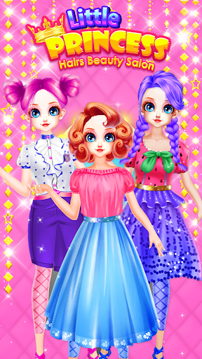 Little Princess Bella Girl Braid Hair Beauty Salon screenshot 9