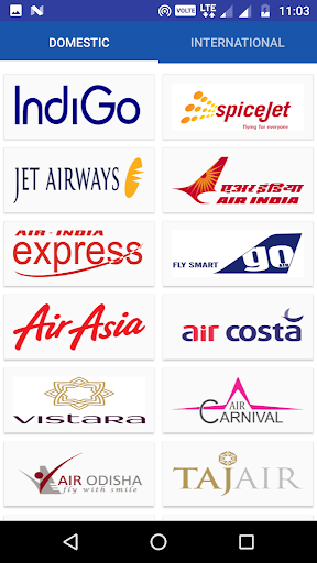 Indian Airlines screenshot 2