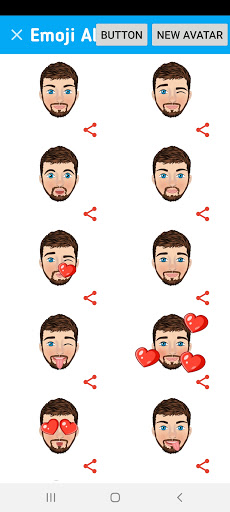 Avatarly: crear avatar emoji para Wastickerapps screenshot 8