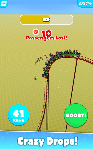 Hyper Roller Coaster screenshot 8