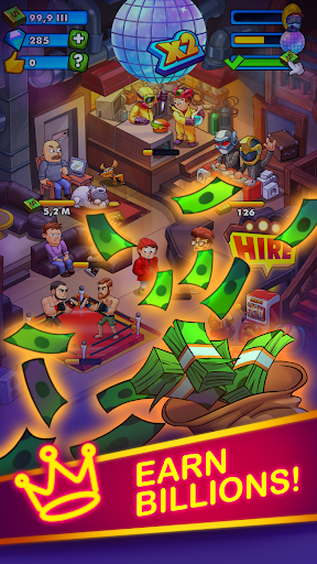 Party Clicker — Idle Nightclub Game screenshot 3