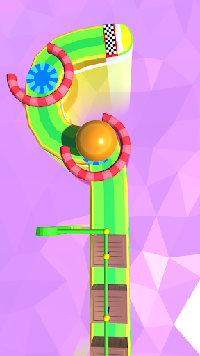 Dig Sand Ball Color - Escape Ball Game Run Hole 3D screenshot 2