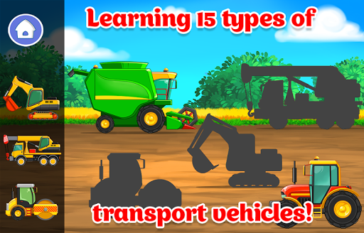 Kids Cars Games! Build a car and truck wash! screenshot 2