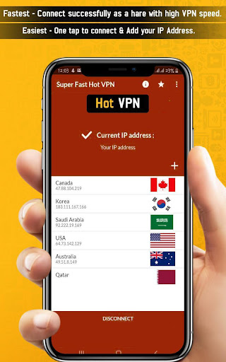 Super Fast Hot VPN-Super Fast VPN Proxy Lite VPN screenshot 2