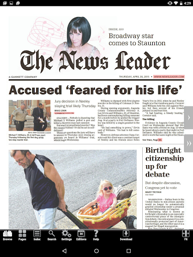 The News Leader Print Edition screenshot 5