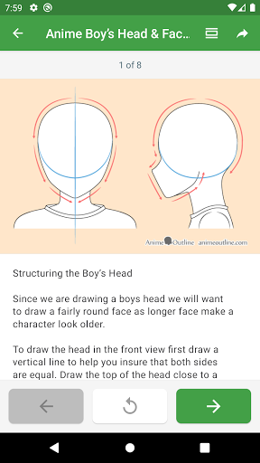 How to draw anime step by step screenshot 4