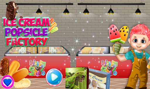 Ice Cream Popsicle Factory Snow Icy Cone Maker screenshot 12