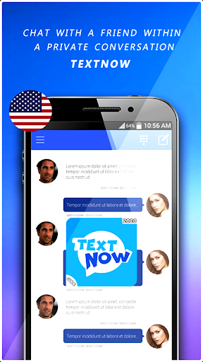 Free TextNow screenshot 1