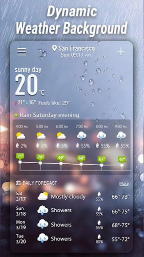 Weather App - Weather Forecast & Weather Live screenshot 7