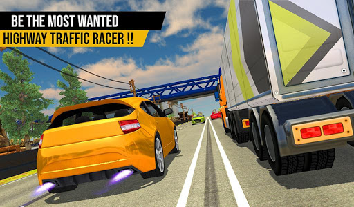 Racing in Highway Car 2018 screenshot 3