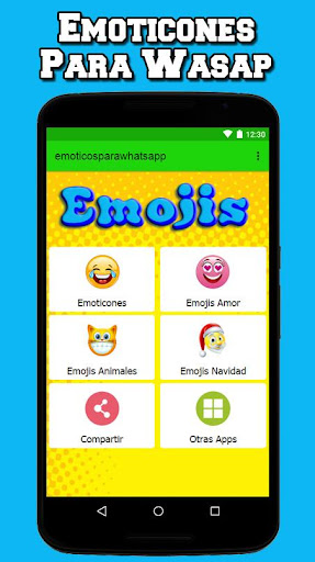Big Emoticons For Whatsapp and Facebook Free screenshot 1