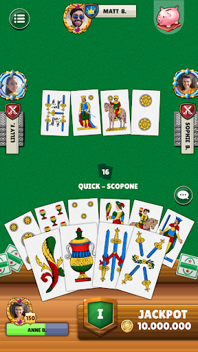 Scopa screenshot 4