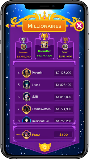 Who Wants To Be A Millionaire! screenshot 1