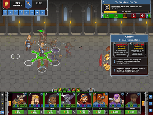 Idle Champions of the Forgotten Realms screenshot 1