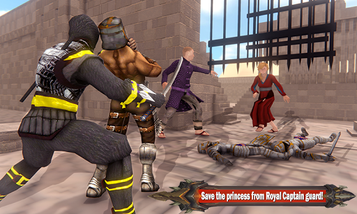 Superhero Ninja Arashi with Samurai Assassin Hero screenshot 3