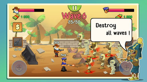 Two guys & Zombies (two-player game) screenshot 2