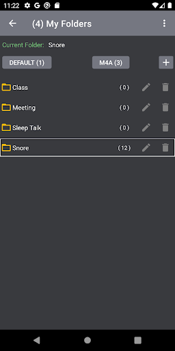 Voice Activated Recorder screenshot 4