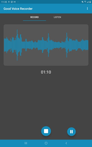Good Voice Recorder - Sound & Audio Recorder screenshot 3