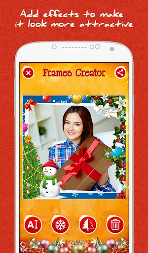 Merry Christmas Photo Frames screenshot 3