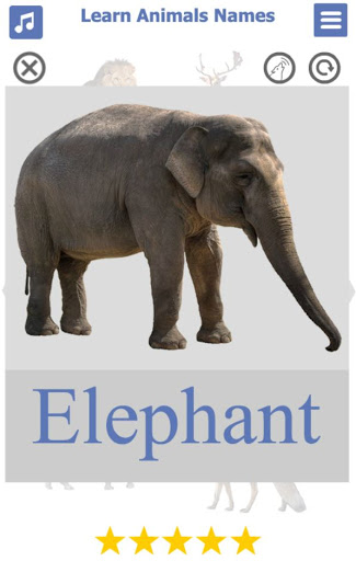 Learn Animals Name Animal Sounds Animals Pictures tangkapan layar 2
