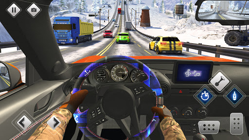 Highway Driving Car Racing Game screenshot 3
