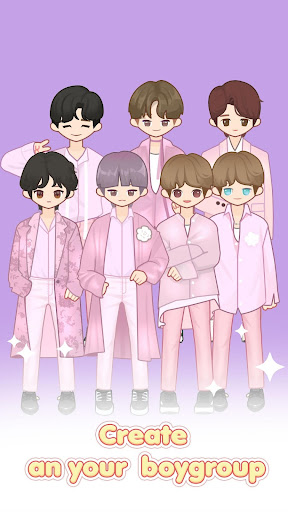 MYIDOL (#Dress up #BoyGroup #k-star #k-pop) Bildschirmfoto 1